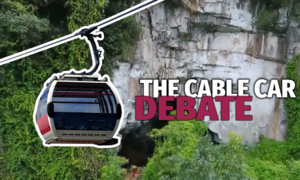 Should Vietnam build a cable car system in its cave kingdom?