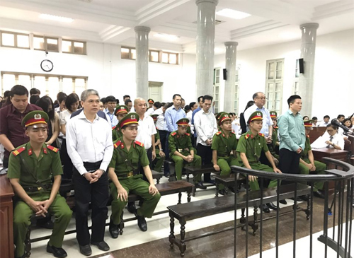 51 defendants in the dock as Vietnam reopens massive bank fraud trial