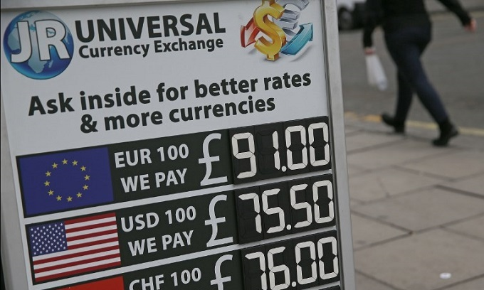 'Thanks Brexit': Pound nears euro parity