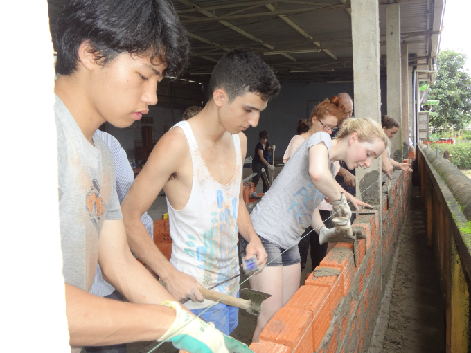 International students offered taste of reality through community service trips in Vietnam