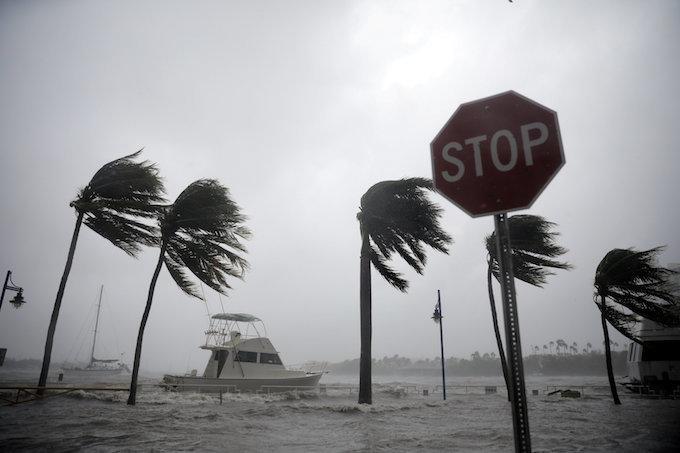 Hurricane Irma: Storm Tracks West