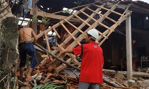 Central Vietnam residents left homeless after Typhoon Doksuri