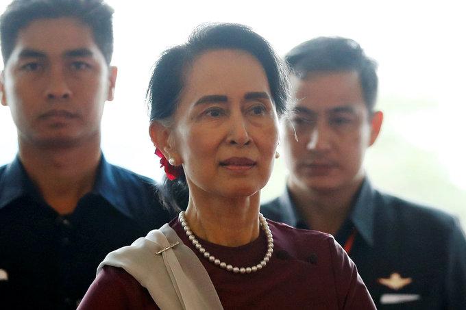 Myanmar's Suu Kyi denies going 'soft' on military