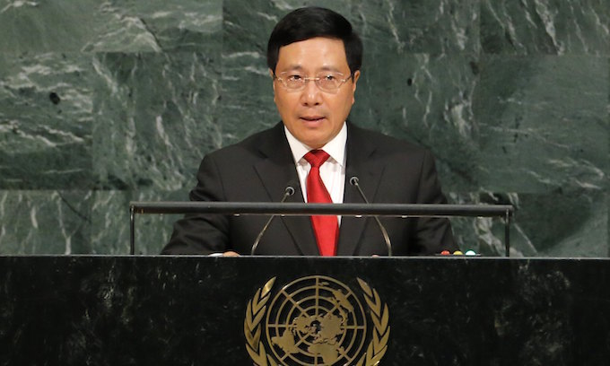 Vietnam signs global treaty to ban nuclear weapons
