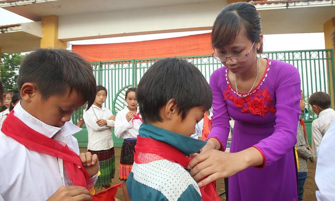 Vietnamese teachers make a meager $100 a month