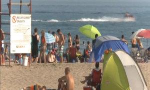 Record-breaking heat grips southeastern Canada