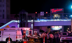 At least 50 dead, more than 200 hurt in Las Vegas shooting