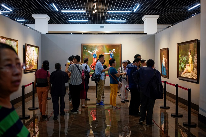 White tiger, dark horse: North Korean art market heats up