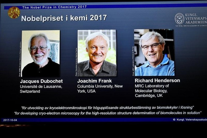 Nobel Prize in Chemistry Awarded for 3D Images of Life's Molecules