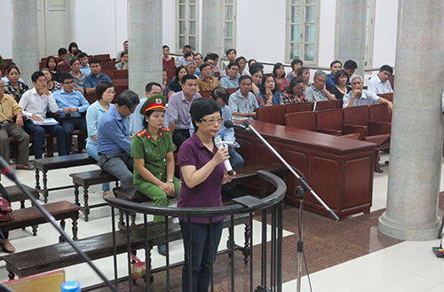 Hanoi court stops former lawmaker from testifying about paying bribe for parliamentary seat