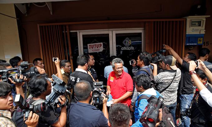 Indonesian police arrest 58 men in raid on gay sauna
