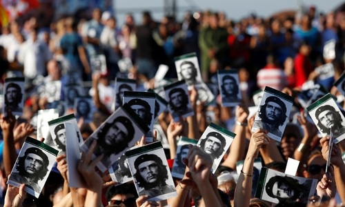 Cubans pay tribute to 'Che' on 50th anniversary of his death