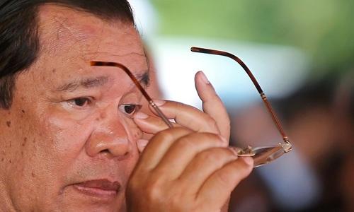 Cambodia's Hun Sen renews criticism of United States amid escalating row