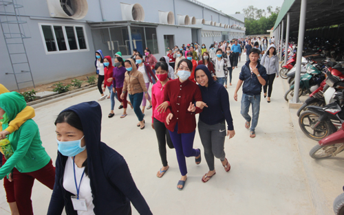 500-workers-go-on-strike-in-central-vietnam-over-unreasonable-pay