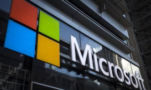 Microsoft tops forecasts with 16 percent profit growth
