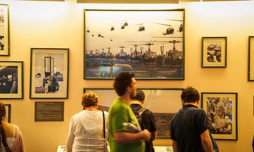 Inside Saigon's War Remnants Museum