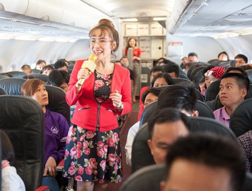 Billionaire Vietnamese airline CEO flies higher on list of world's most powerful women