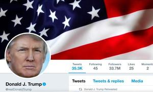 Twitter says Trump's account 'inadvertently deactivated' by Twitter employee