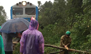 Railway paralyzed, flights grounded, ships sunk as Storm Damrey sweeps through central Vietnam