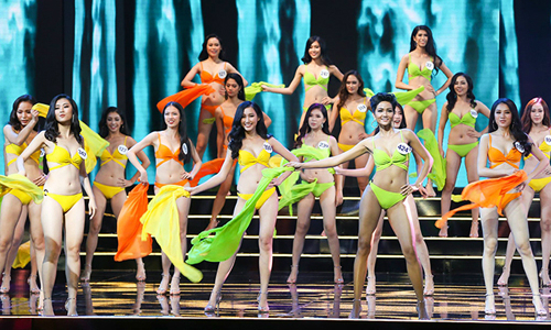 Beauty contest slammed for insisting show must go on amid raging typhoon in central Vietnam