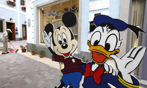 Move over Mickey: In Germany, Donald Duck reigns