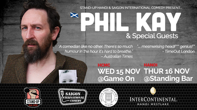 Stand-up Comedy: Phil Kay (UK)