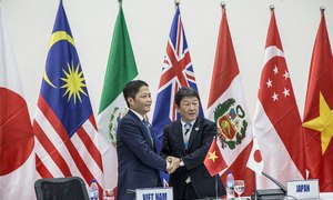 TPP trade deal advances without United States