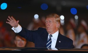 Trump lands in Vietnam's capital for state visit