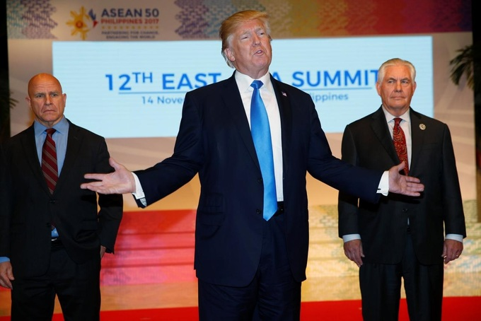Trump skips East Asia leaders Summit, sends Tillerson instead