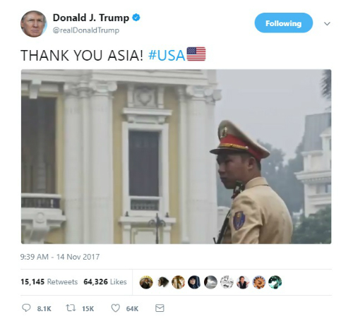 vietnam-featured-in-trumps-thank-you-video-for-asia-tour
