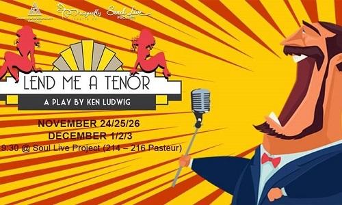 Broadway Comedy: Lend Me a Tenor