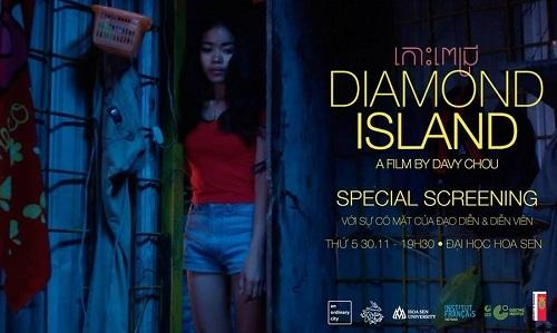 Screening | Q&A with cast: 'Diamond Island'