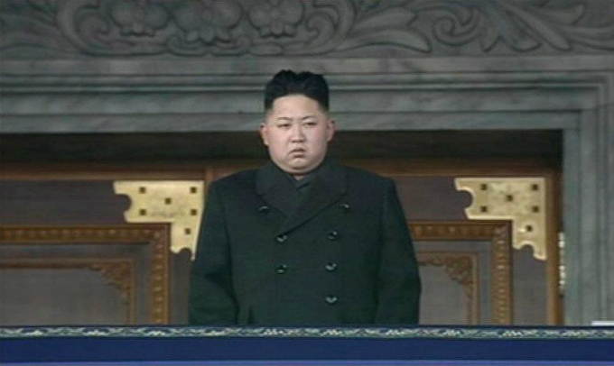 North Koreas new leader Kim Jong-un looks on during the memorial for late North Korean leader Kim Jong-il in Pyongyang, in this still image taken from video December 29, 2011. Photo courtesy of KRT via Reuters TV/File Photo