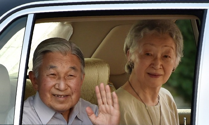 Japan emperor to abdicate in April 2019