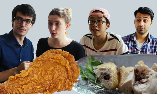 Vietnam's street food vs foreign fast food - Round 3: Boiled vs fried chicken