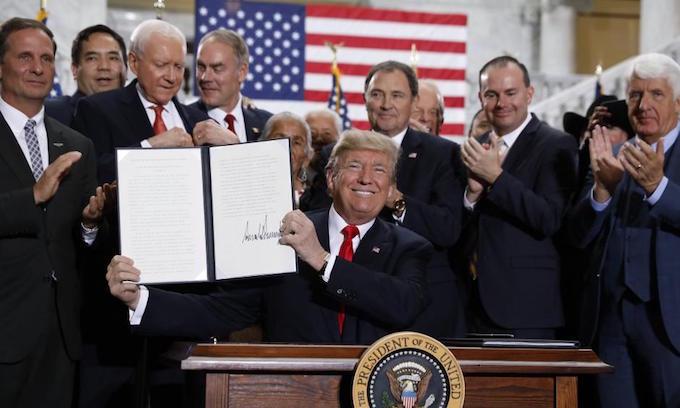 Trump outlines big cuts to Utah monuments, environmentalists sue