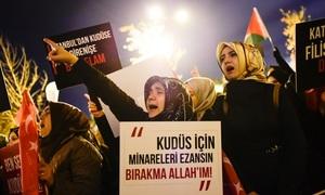 World, bar Israel, condemns Trump Jerusalem announcement