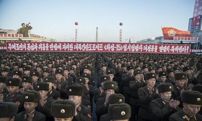 North Korea says U.S. threats make war unavoidable, China urges calm