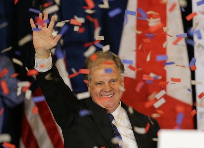 Democrat Jones wins U.S. Senate seat in Alabama in blow to Trump