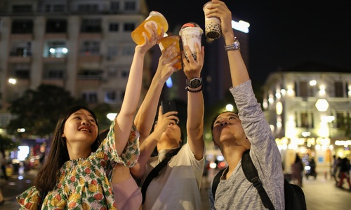 The bubble tea craze sweeping Saigon – in pictures
