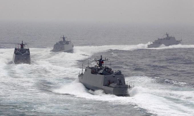 China angered as US considers navy visits to Taiwan