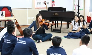 British International School Hanoi offers music studies fit for royalty