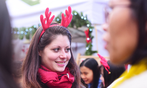 Getting festive at Hanoi's first German Christmas market