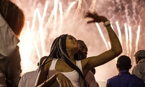 Revelers welcome 2018 around the world