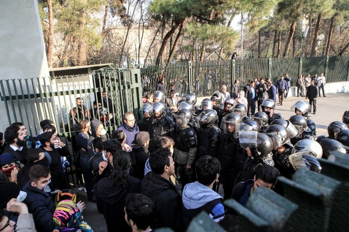 Nine dead, hundreds arrested as fresh protests hit Iran