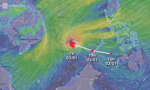 Southern Vietnam braces for first storm of 2018
