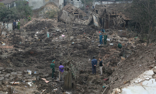 Scrap dealer faces criminal charges over fatal explosion in northern Vietnam
