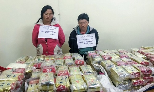 Vietnam cops seize $3 mln heroin hidden in tea packets