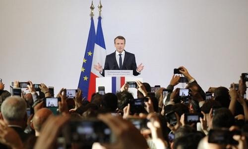 Macron urges European unity to face rising China