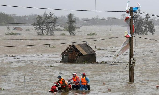 Rising seas could displace millions in Vietnam: UN